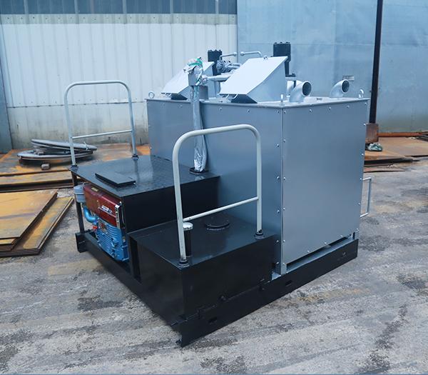 双缸液压热熔釜-方形