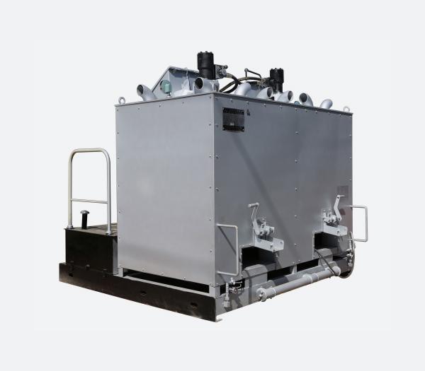 双缸液压热熔釜