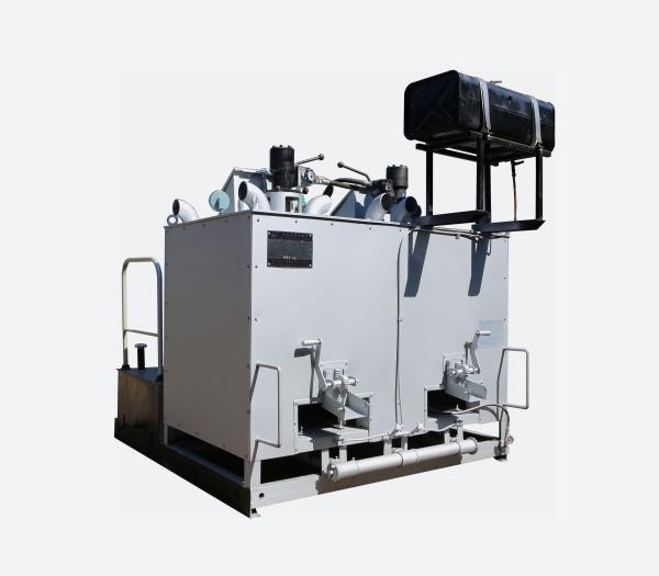 双缸燃油液压热熔釜